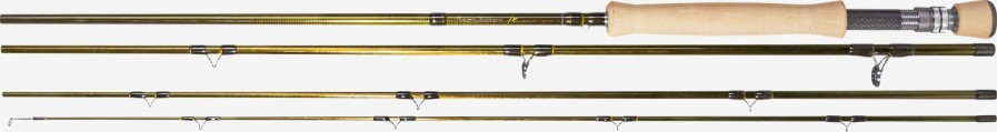 Is the series of four parts fly rods of TEAM DRAGON FX, they allow to dynamic castings of the lines for long distances and their great bending despite fast action guarantee great presentation of the lure. They are really sensitive, light and at the same time strong and durable. In 2019 we are introducing novelties when it comes 3.05m length and #5, #6, #7 blanks.