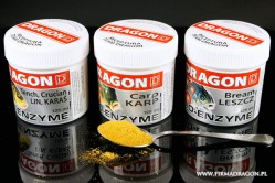 Bio –Enzyme activator which main ingredient is digestive enzyme extract and amino acids.  Dragon is experienced with such additions. This preparation increases the fish's appetite, increases the metabolism, increases the flavor and smell of the lure and bait. It is not expensive and cost-efficient.