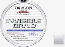 INVISIBLE BRAID - is another product for Dragon which is made by Japanese Toray company. It is made in High Clarity Process technology what allows to get optical features similar to copolymer ones, thanks to that it is almost invisible in water. Perfect surface smoothness allows to easy, fur and precise castings. Dragon Invisible braid has the effect of 100% transparency only during contact with water.